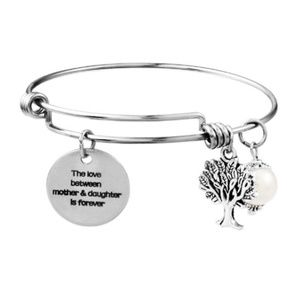 Tree Of Life Bracelet Faux Pearl Charm